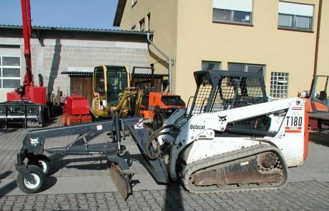 Bobcat T 180 + Gräder