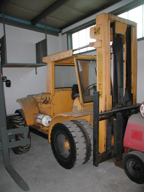 Hyster H250 Gas